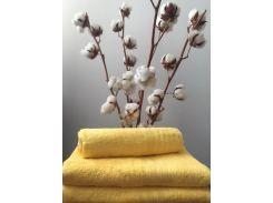 Полотенце махровое Roma Dream 420 Solo желтый 30х30 см