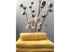 Полотенце махровое Roma Dream 420 Solo желтый 30х50 см