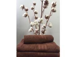 Полотенце махровое Roma Dream 420 Solo коричневый 30х30 см
