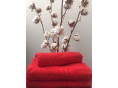 Полотенце махровое Roma Dream 420 Solo красный 30х50 см