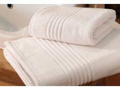 Полотенце махровое Roma Dream 530 Hotel line белый 50х90 см