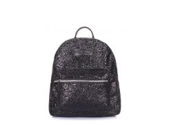 Рюкзак женский блестящий Poolparty Xs Bckpck glitter black