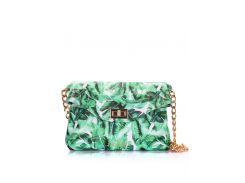 Кожаная сумочка-клатч Poolparty с цепочкой Palm clutch