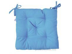 Подушка на стул Прованс Half panama Light blue 40х40 см