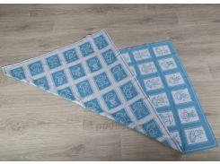 Плед детский ОТМ Дизайн 2586389 Человечки голубой 90х120 см