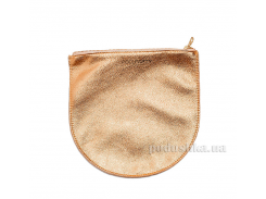 Кожаная косметичка-клатч Poolparty cosmetic-pp1-gold