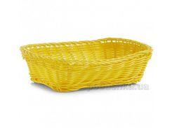 Корзина для хлеба Zeller 24х18x7 см G18061 желтая