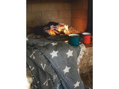 Плед Barine Star black 160х260 cм