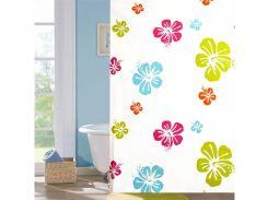 Шторка для ванной комнаты Viland Цветочная KM10090 180х180 см