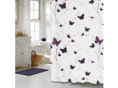Шторка для ванной комнаты МД Butterflies NJ10252 180х180 см