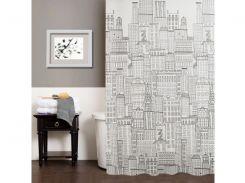 Шторка для ванной комнаты МД City NJ10254 180х180 см