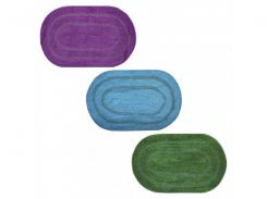 Коврик для ванной МД Классик SI10056/1 40х60 cм цвет голубой