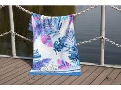 Полотенце пляжное Lotus Paradise mavi 75х150 см