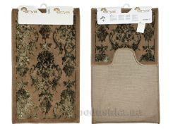 Набор ковриков в ванную Arya Osmanli TR1001009 коричневый