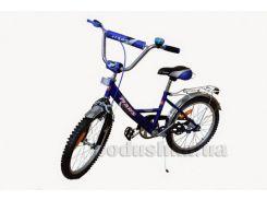 велосипед марс 16 р. тормоз + эксцентрик синий / черный mars с1601 с/ч