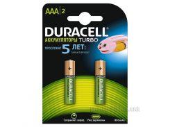 Аккумуляторы Duracell Ni-MH AAA HR03 850 mAh (2шт.)