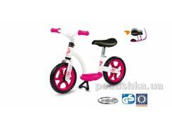 Детский учебный беговел, розовый Smoby 452052