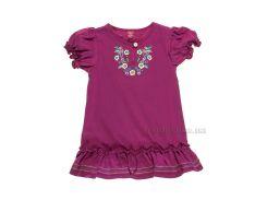 Платье для девочки Gloria Jeans 50504 лиловое 74