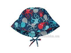 Солнцезащитная панамка I Play -Light Navy Octopus- 21014-747161-6306-51 0-6 мес
