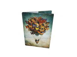 Кожаная обложка для паспорта Devays Maker Волшебное путешествие 01-01-004