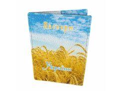 Кожаная обложка для паспорта Devays Maker Украина 01-01-062