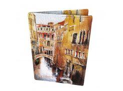 Кожаная обложка для паспорта Devays Maker Венеция 01-01-141