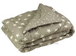 Одеяло зимнее шерстяное в бязи Руно Grey Star 200х220 см