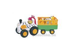 Игровой набор Трактор-сафари (все, звук, рус) Kiddieland 051169