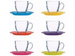 Сервиз для чая Luminarc Carina Rainbow 6х220 мл N4217