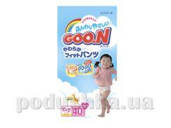 Подгузники-трусики В/Очень Большой, для девочек Goo.N 753465