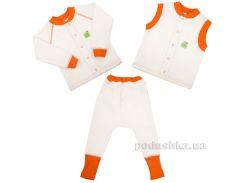 Комплект для малышей 3 в 1 Jersey Style Эко Пупс капитон молочный 92