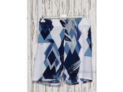 Шорты мужские Gloria Jeans 37645 белые с синим 54