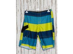 Шорты мужские Gloria Jeans 38677 синие с желтым 42