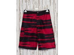 Шорты мужские Gloria Jeans 82001 черные с красным 42