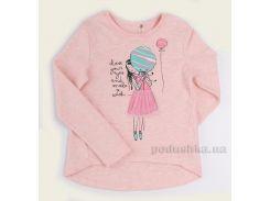 Кофточка для девочки Bembi ФБ618 интерлок розовый меланж 110