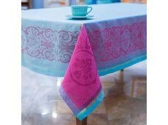 Скатерть с тефлоновой пропиткой Villa Grazia Premium Prodige NC5729004 Turqu 160х200 см