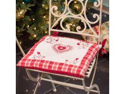 Подушка для стула Emilia Arredamento Сердечные поздравления 40х40 см