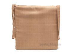 Подушка для стула Emilia Arredamento NatUnACCEC-40 бежевая 40х40 см