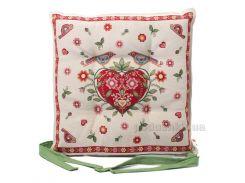 Подушка для стула Emilia Arredamento Сердечко 40х40 см