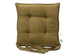 Подушка для стула Emilia Arredamento VerdeASRGDCP зеленая 40х40 см