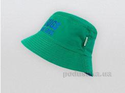 Панама для мальчика Bembi ГУ104 зеленая 74 обхват головы 47