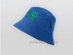 Панама для мальчика Bembi ГУ104 синяя 74 обхват головы 47