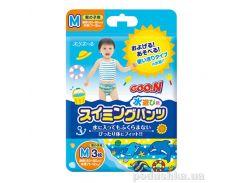 Подгузники - трусики для плавания М/Средний мальчику 743490