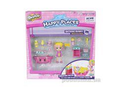 Набор фигурок Happy Places S1 – Ванная комната бабли гам кукла 13 петкинсов 2 платформы
