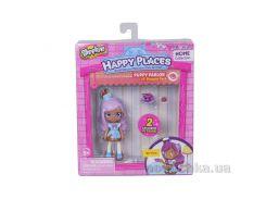 Кукла Happy Places S1 – Кристи 2 эксклюзивных петкинса, подставка