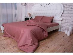 Комплект постельного белья TM Nostra Сатин Trose Active гладкокрашеный Двуспальный комплект