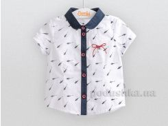 Блузка для девочки Bembi РБ84 вуаль белая 116