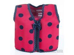 Плавательный жилет Konfidence Original Jacket Цвет Ladybird Polka KJ05-C-03