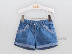 Шорты джинсовые для малышей Bembi ШР462 голубые 74