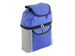 Термо-рюкзак Traum 7012-23 синий с серым